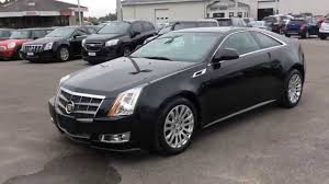 cadillac cts coupe 2009 used 2011 cadillac cts coupe 2dr performance awd pickering on
