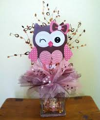 baby shower owl decorations baby girl owl center pc crafts baby girl owl owl
