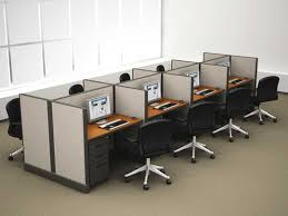 Modern Office Desk For Sale Basic Cofiguration Of The Call Center Cubicles