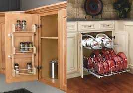 Door Mounted Spice Rack How To Save Cabinet Space With Stylish Filler Organizers U2013 The Rta