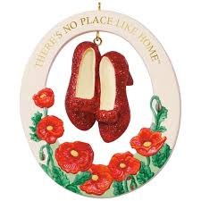 the wizard of oz there s no place like home ruby slippers