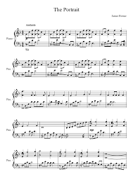film titanic music download the portrait from the movie titanic sheet music for piano musescore