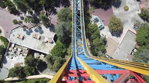 six flags magic mountain superman escape from krypton front seat on ride hd pov six flags