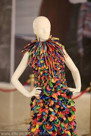 balloon dress walk the aisle in balloon dress chinadaily cn