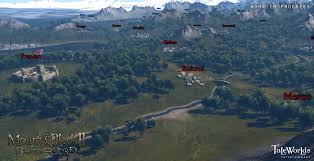 mount and blade map mount blade ii bannerlord taleworlds entertainment