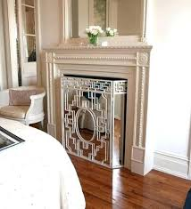 fireplace cover up coastal fireplace screen fireplace cover up ideas faux fireplace