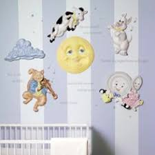 Nursery Rhymes Decorations Goose Nursery Rhymes 3d Wall Decor By Beetling Design