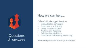 Office 365 Help Desk Driving Value From Microsoft Office 365