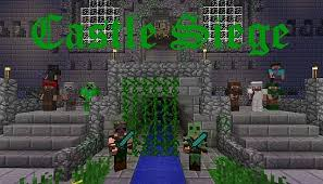 castle siege castle siege team pvp minecraft project