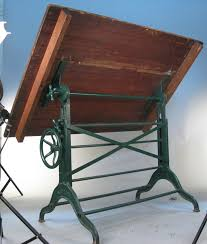Iron Drafting Table Vintage Antique Drafting Table The Clayton Design