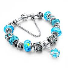 murano glass beads bracelet silver images Murano glass beads crystal 925 silver charm bracelets fun jpg
