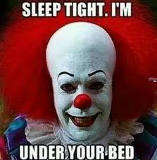 Creepy Clown Meme - scary clown meme creepy clown meme sci fi horror pinterest