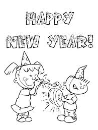 happy new year preschool coloring pages happy new year 2016 pencil sketch happy new year 2017 pinterest