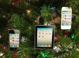 adorn your tree with these iphone and decorations