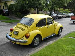yellow baja bug vw bug vws in portland