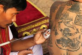 old style tattoos in thailand during the muay thai festiva u2026 flickr