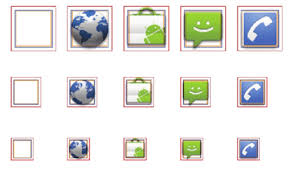 android icon size sizing android visual elements correctly dr dobb s