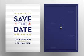 nautical save the date save the date postcard template 25 free psd vector eps ai