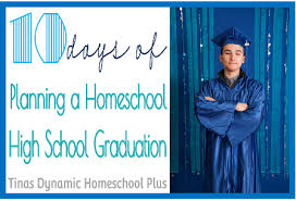 homeschool graduation cap and gown planning a homeschool high school graduation archives tina s