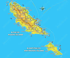 Greece Maps by Maps Of Corfu Surrounding Islands Paxos And Diapontia Corfu Areas