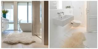 Throw Rugs For Bathroom by Living Room Elegant Sheepskin In The Bathroom Town Area Rugs