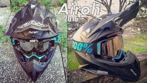 airoh motocross helmet 2016 airoh aviator 2 2 color matte black unboxing airoh new
