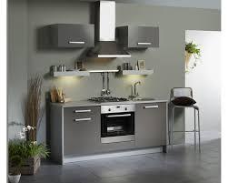 Modele Cuisine Petite Surface by Indogate Com Decoration Cuisine Grise Et Blanche