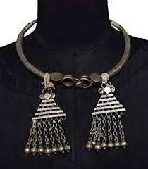 neck ring necklace images Belly dance jewelry neck ring authentic banjara jpg