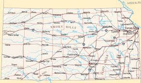 Kansas rivers images Kansas map map of kansas gif
