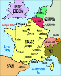 map of countries surrounding germany maps of and quiberon peninsula area