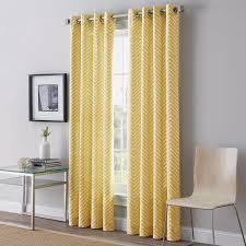 2 peri home herringbone 95 inch grommet top window curtains