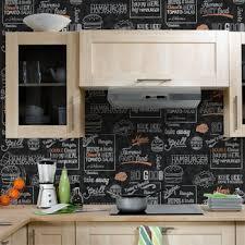 4 murs papier peint cuisine papier peint