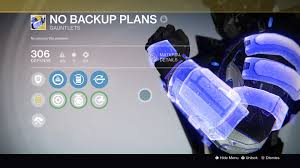 no back up plans exotic armor review destiny best perks guide
