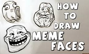 Cartoon Meme Faces - ep 111 how to draw meme faces youtube