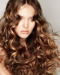curly highlight for asian women medium haircut