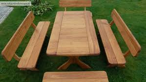 Inexpensive Patio Tables Wooden Garden Tables For Sale Outdoor Living Furniture Hardwood