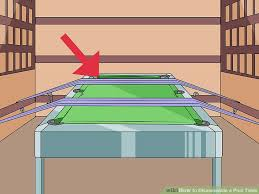 how to disassemble a pool table how to disassemble a pool table 11 steps with pictures