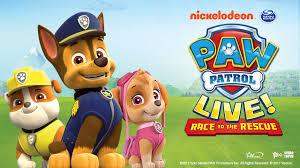 paw patrol live u201crace to the rescue u201d metro radio arena