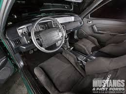5 0 mustang and fast fords 1990 ford mustang coupe interior restoration part 3 photo image