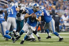first thanksgiving nfl game stafford throws 5 td passes lions beat eagles 45 14 boston herald