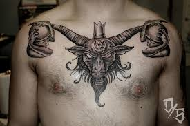 baphomet tattoos designs ideas and meaning tattoos for you
