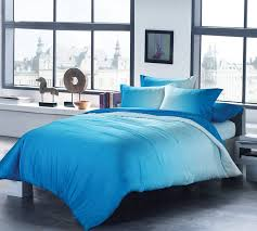 Oversized King Comforters And Quilts Ombre Aqua King Comforter