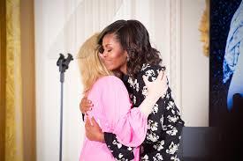 how michelle obama returned her husband u0027s loving tribute vanity fair