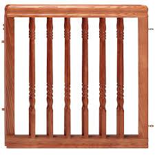 Baby Stair Gates Evenflo Wood Swing Gate Harvest Oak Walmart Com