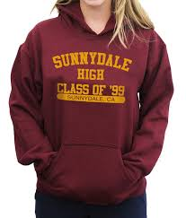 sunnydale class of 99 sunnydale high class of 99 college hoodie jumper buffy