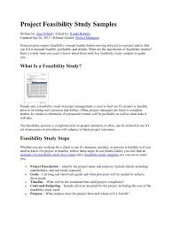 project feasibility study samples feasibility study waste