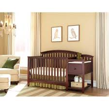 Baby Cribs With Changing Table Attached Nursery Decors Furnitures Baby Cribs Changing Table Attached
