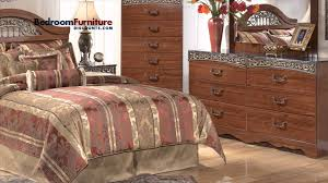 Ashley Greensburg Bedroom Set Ashley Fairbrooks Estate 4 Piece Headboard Bedroom Set Youtube