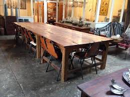 Seater Recycled Timber Dining Table Mulbury - Timber kitchen table