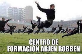 Robben Meme - de formaci祿n arjen robben